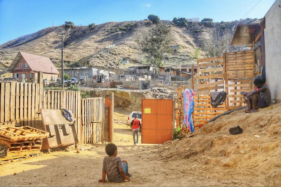 """""""Pequeña Haití"""" de Tijuana, ahora alberga a centroamericanos"""