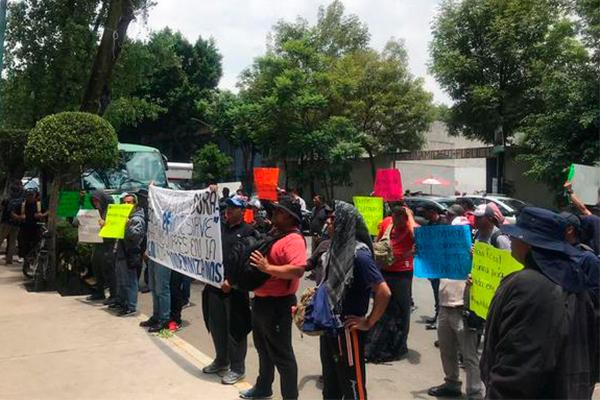 Levantan_protesta_Policías_Federales_Segob