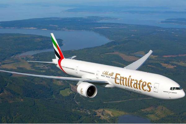 Emirates opera el vuelo Dubái-Barcelona-Ciudad de México con permiso de quinta libertad de la SCT. Foto: Especial.