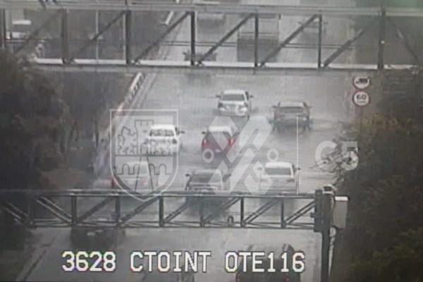 Alerta Vial: Reportan lluvia en 6 alcaldías de la CDMX y encharcamiento en Circuito Interior