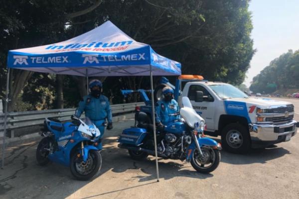 Se cae la señal de Telmex y Telcel. Foto: Telmex