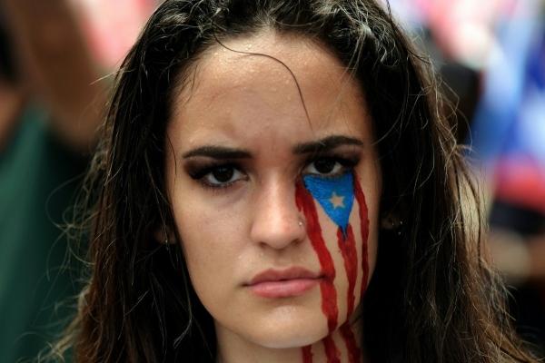 En junio 2017, a través de un referéndum, más del 97 por ciento de los votantes estuvieron de acuerdo a la anexión de Puerto Rico como el estado número 51 de Estados Unidos. Foto: AFP