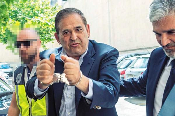 FUGA. Alonso Ancira, presidente de Altos Hornos de México fue apresado en mayo en Mallorca, España, pues es buscado por autoridades mexicanas. Foto: EFE.