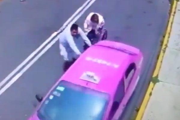 CDMX Taxi Robo