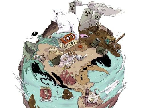 Actualmente, se extinguen hasta 200 especies cada día. Ilustración: Norberto Carrasco