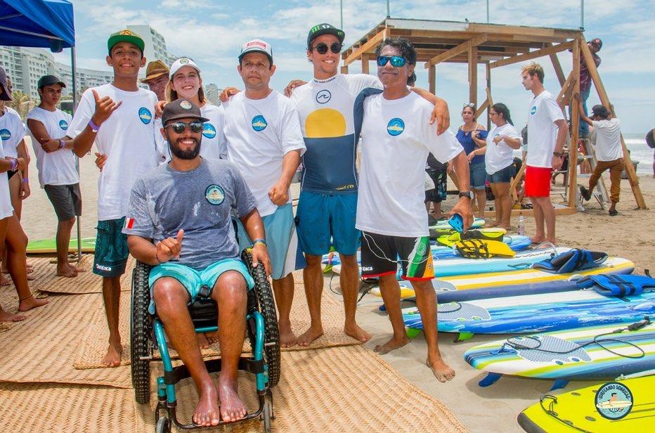 El Reto. Que las playas de Guerrero sean accesibles para cualquier persona. Foto: Cortesía