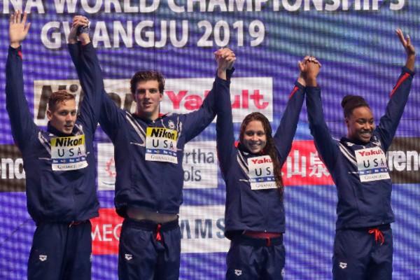 récord mundial de natación