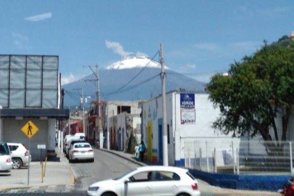 Actividad volcán popocatépetl 27 julio