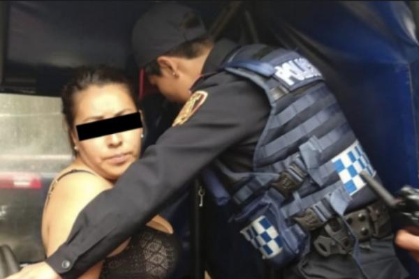 La detenida permanecerá en el penal de Santa Martha Acatitla. Foto: Especial.