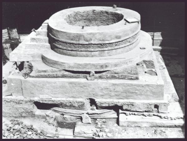 Historia. La Pirámide de Ehécatl fue descubierta mientras se construía la estación Pino Suárez. Foto: Cortesía