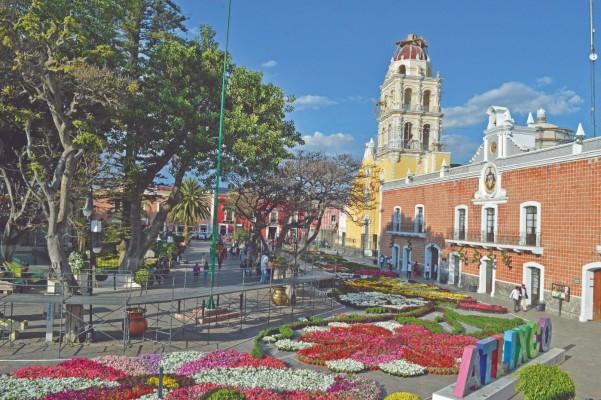 En 2018, Atlixco (foto) fue el Pueblo Mágico más visitado con 525 mil turistas nacionales y extranjeros. Foto: Enfoque