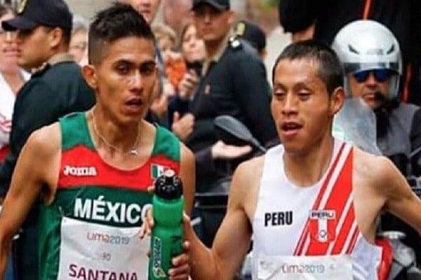 Pacheco ganó con 2:09.31 minutos y el mexicano se quedó la plata con 2:10.54. Foto: Especial