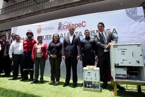 Ecatepec habilita programa de alertas sísmicas