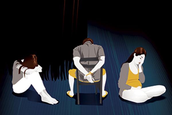 Teresa Ulloa reconoce que los estados fronterizos fa- vorecen la trata de personas. Ilustración: El Heraldo de México.
