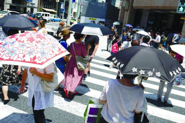 Ola de calor mata a 11 en Japón