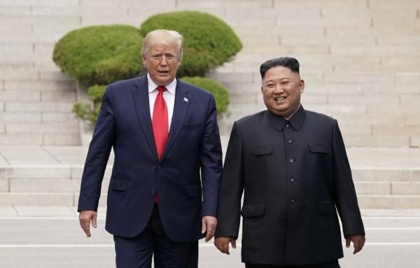 Es la primera vez que líderes de Estados Unidos y Corea del Norte se reúnen en esta frontera. Foto: Reuters