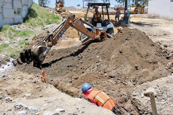 OBRA. La rehabilitación del Periférico Ecológico de Valsequillo lleva 40 por ciento de avance. Foto: Especial