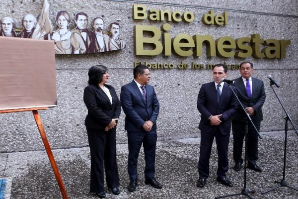 Inauguran Banco del Bienestar