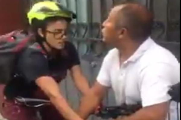 Ante la situación, la Secretaría de Movilidad de Oaxaca refrendó su apoyo a la mujer ciclista para solucionar el caso. Foto: Twitter