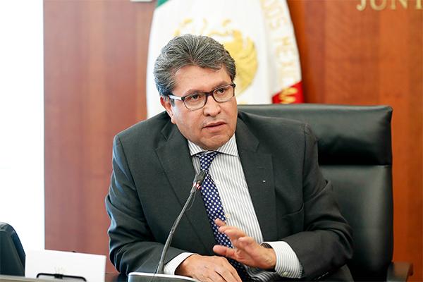 Monreal Ávila señaló que para este tema se necesita un parlamento abierto donde se escuche a psicólogos y especialistas en adiciones. FOTO: Especial