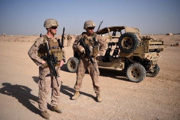 META. Trump busca reducir la presencia de tropas en el país asiático. Foto: AP