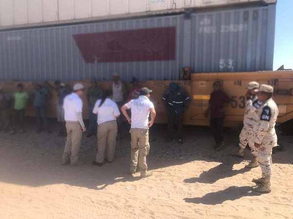 A través de un comunicado, la Guardia Nacional refrendó su compromiso salvaguardar el bienestar de mexicanos y extranjeros que se encuentran en nuestro país. Foto: Especial