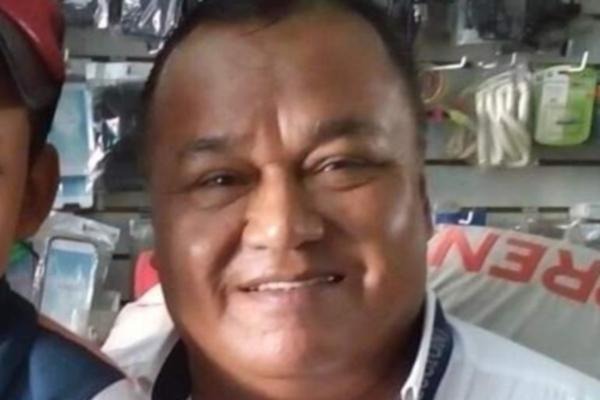 El periodista Jorge Celestino Ruiz fue asesinado. Foto: Especial