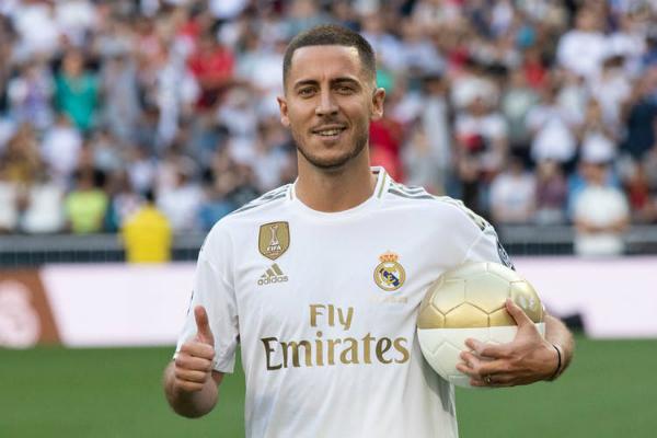 Durante este mercado de fichajes se confirmó la llegada de Eden Hazard al Real Madrid. Foto: Especial.