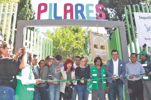 ZONA POPULAR. La mandataria capitalina inauguró el centro comunitario La Cuesta. Foto: CUARTOSCURO