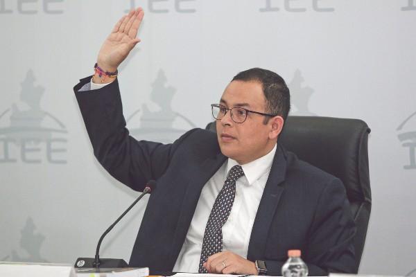 FONDOS. Jacinto Herrera inició la gestión de recursos con la Secretaría de Finanzas. Foto: ENFOQUE