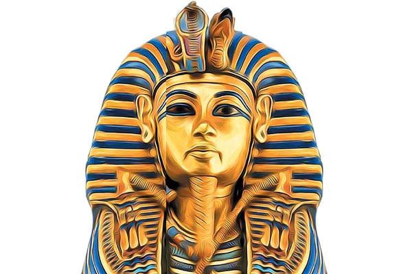 Tutankamón fue coronado rey cuando tenía entre ocho y 10 años. Foto: EFE