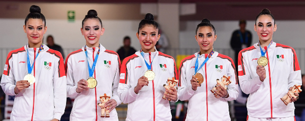 Esfuerzo. Las mexicanas volvieron a sobresalir. Foto: Mexsport
