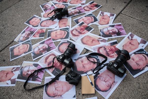 La Fundación Fernando Mora Gómez condena enérgicamente, los asesinatos de los periodistas Rogelio Barragán, Alberto Nava López, y Jorge Ruíz Vázquez, registrados en México en menos de una semana. Foto: Cuartoscuro