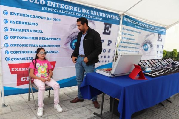Municipio de Huixquilucan regalará lentes