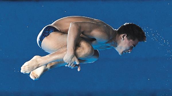 Capacidad. Kevin Berlín sumó su segunda presea de oro. Foto: Mexsport