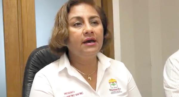 Retardo. La alcaldesa Griselda Martínez aseguró que apenas el viernes fue citada. Foto: Especial