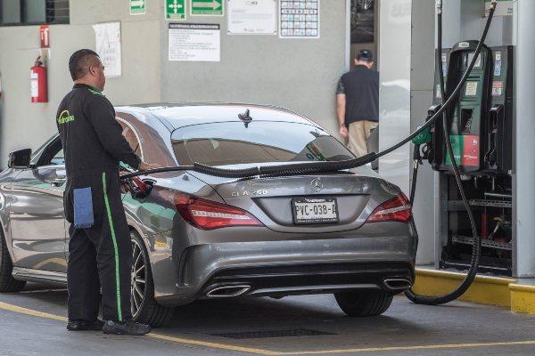 Gasolinas precios