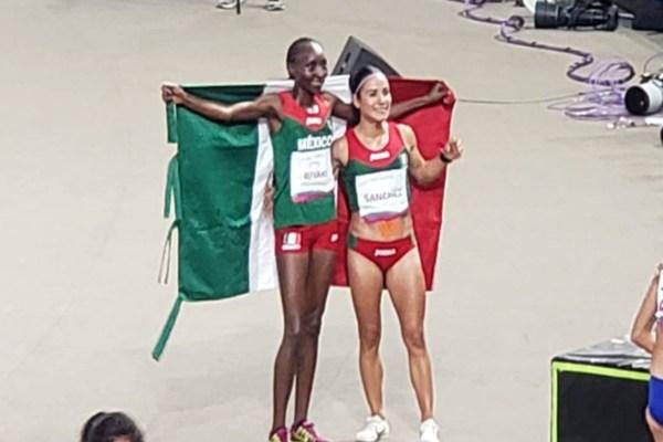 Risper Gesabwa gana plata para México en Atletismo