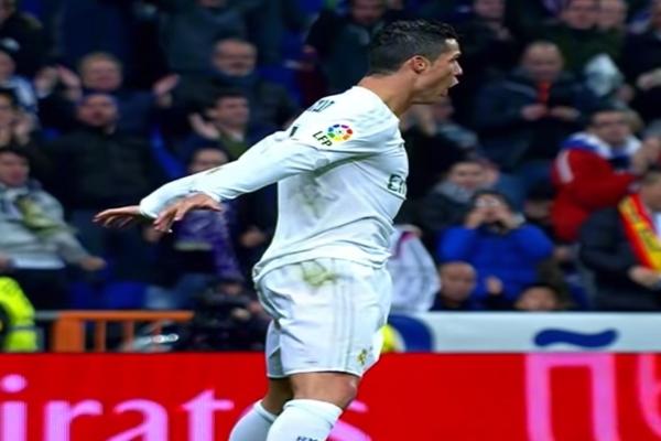 Cristiano Ronaldo confiesa el origen de su famoso festejo al meter gol. Foto: Captura de YouTube