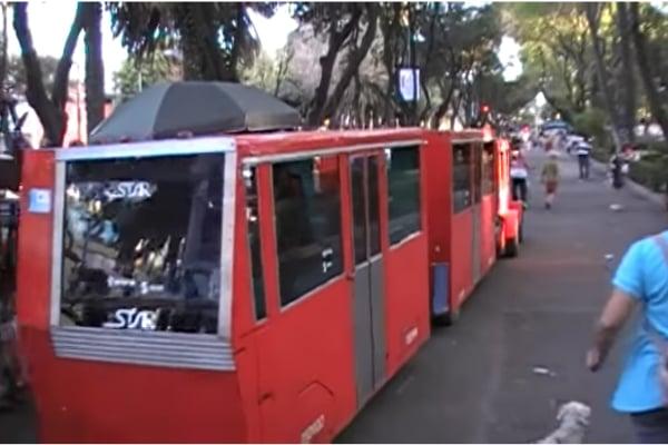 ¿Qué dirías si te cuento que hay un Metro Bebé en el que sí puedes viajar? Y mejor aún, pues lo puedes hacer mientras disfrutas del Parque de Los Venados. Foto: Especial.
