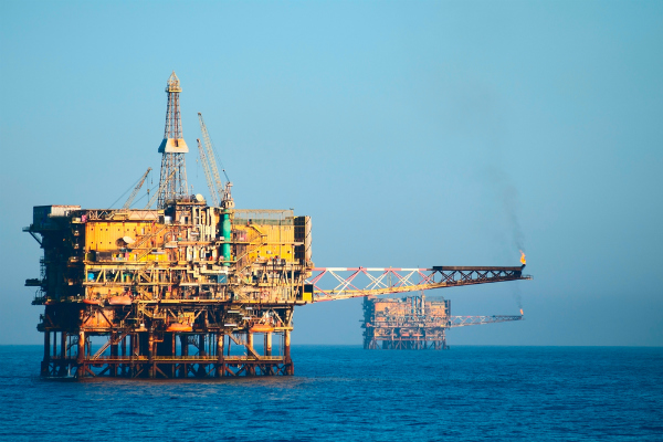 Plataforma petrolera en el Golfo de México. Foto: Especial.