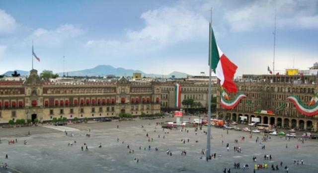 El Centro Histórico de la Ciudad de México. FOTO: Especial.