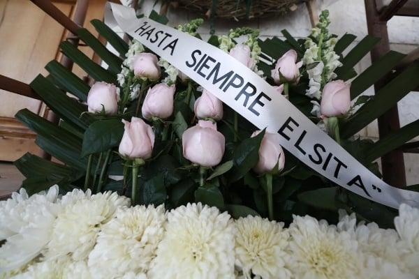 El cadaver de Elsa Mendoza llegó a México este miércoles. Foto: Especial