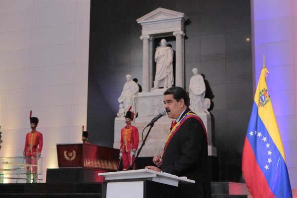 El presidente de Venezuela, Nicolás Maduro, aseguró este día que