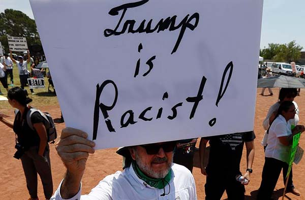 La cancillería se pronunció en contra de los discursos de odio y el concepto de 'supremacía blanca'. Foto: EFE