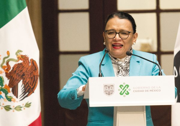 AVANCE. La secretaria de Gobierno ofreció una actualización de las cifras del programa de desarme. Foto: CUARTOSCURO