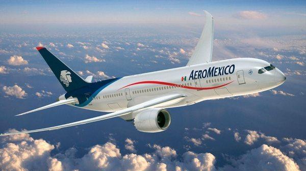 Aeroméxico solicitó un amparo sobre la autorización al vuelo de Emirates entre Barcelona y la CDMX. Foto: Especial.