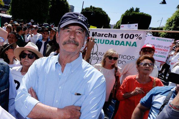 Vicente Fox Seguridad