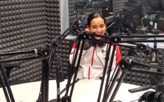 Paula Fregoso ganadora de la medalla de oro en Lima 2019
