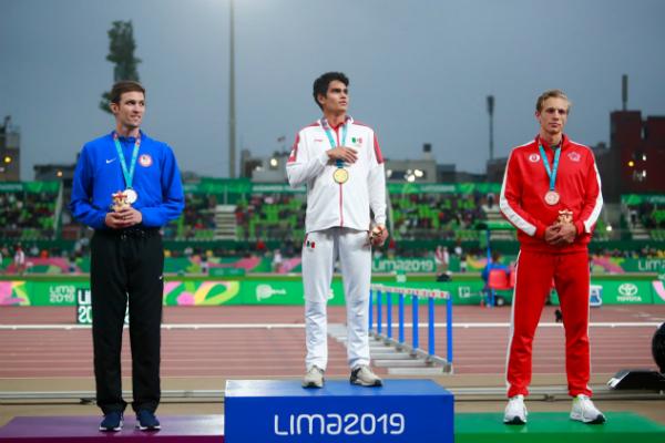Esta es la primera vez que México gana el Metal Dorado en la prueba de 1500 metros planos. Foto: Especial